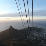Views of Lion Head from the cable car
