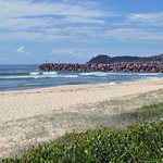 Grants Beach - a 2 minute drive or 15 minute walk