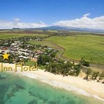 Aerial Of Paia Inn