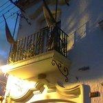 El balcón de mi habitación a la calle 25 de mayo