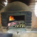 El horno donde se cocina el mejor sabor del la playa el maguey