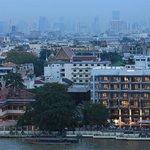 Riva Surya Hotel View from Chao Phraya River