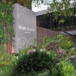 Riva Surya Hotel Exterior View from Phra Arthit Rd