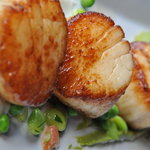 Seared Diver Sea Scallops