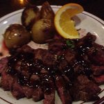 Flat Iron Steak cooked to perfection!!