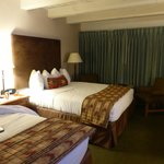 Nice large rooms - cute Western style decor