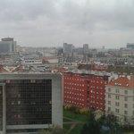 Vista desde la habitacion en el piso 15