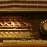 (working) old radio