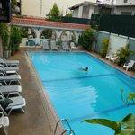 Pool area - Viengtai 2013