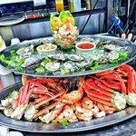 Raw Bar platter for big family