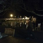View from bar to pier
