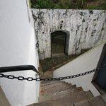 acesso à área externa