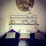 Sunny corner room