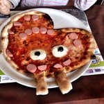 Pizza di peppa pig