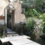 Entrance to Garden Club
