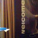 Welcome im Zimmer