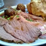 i never normally have beef on a carvery,but this is the best you can get.