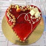La mia splendida (e buonissima) torta di compleanno