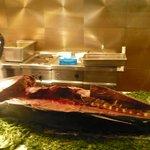 """le thon entier du diner """"Poisson"""""""