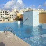 piscina 7° piano