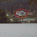 situation de l hotel vue du lac