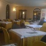 La sala da pranzo principale