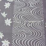 Yukata pattern.