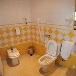 cuarto de baño habitacion