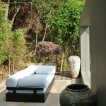 outside sofa with amazing view
