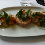 Salmon Tartare, absolutely delicious.