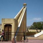 Samrat Yantra (Giant sundial).