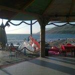 Il Beach del Sayonara Club: la rotonda sul mare.