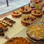 Lovely pastires at Gerard Mulot