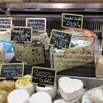 Cheese at the Marche St. Germain