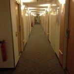 L'accès au chambres