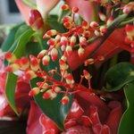Hotel flower arrangement