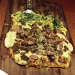 1/2 Popeye 1/2 Argentina pizza = amazing