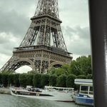 Eiffel Tower from the boat