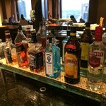 Happy Hour Liquor Buffet Selection at Club Lounge