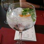 Para finalizar la experiencia nada mejor que uno de sus estupendos Gin Tonic.