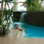 Un angolo di piscina interna