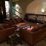 étage, salon détente, partie commune
