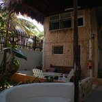 Our Patio & Cristal Bungalow