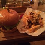 The BBQ burger
