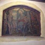 original fresco in our suite