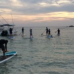 sunset paddle for the entire family to enjoy