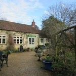 Lacock Tea House Garden in Town