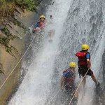 Canyoning at Nepal's best waterfalls - Jalbire