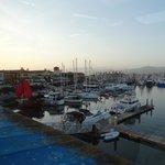 marina 5 mins away
