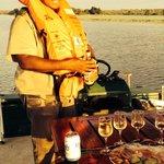 Sundowner sur le boat